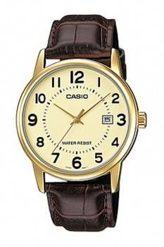 Casio MTP-V002GL-9BUDF Original & Genuine Analog Leather Belt Watch
