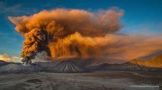 Bromo Eruption - null