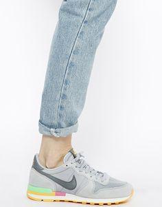Image 4 of Nike Grey Internationalist Trainers