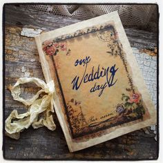 $5 french wedding journal