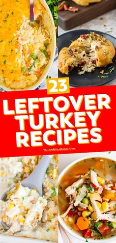 Leftover Turkey recipes are here to save you from your post-Thanksgiving cooking rut. Leftover turkey can be turned into so many delicious meals – soups, casseroles, sandwiches, and more!