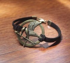 Hunger Games Mockinjay Brown Leather by ThursdaysCollection, £8.99