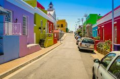 Bo-kaap by Munjal P on 500px  (Bo-kaap, a former Malay quarter in Cape Town, South Africa is a beautiful township with brightly colored houses)
