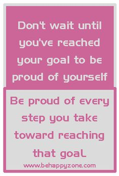 Be proud! - Inspirational and motivational quotes and life articles from be happy zone.