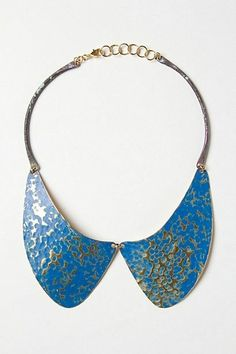 ANTHROPOLOGIE CAMINITO COLLAR NECKLACE by Fernanda Sibilia Handmade ARGENTINA