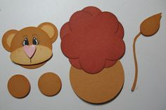 paper punch lion