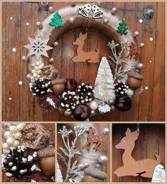 Christmas Wreaths, Christmas Decorations, Holiday Decor, Home Decor, Decoration Home, Room Decor, Home Interior Design, Christmas Decor, Christmas Tables