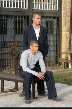 Prison Break (Linc and Scofield)  I miss this show and watching these hotties!!