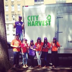 Having some fun with @cityharvestnyc today! #feedthekids #fooddrive