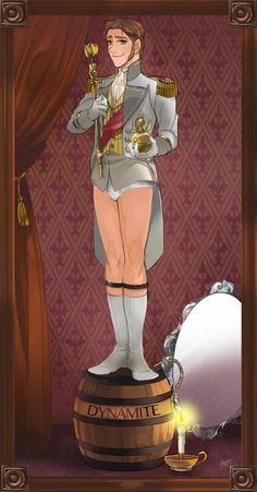 Hans with no pants? ooh la la ;) me *walks seducively towards Hans while twirling my hair and eating a banana*