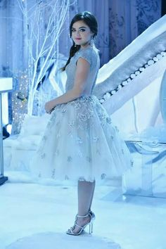 Lucy Hale in Pretty Little Liars as Aria Montgomery