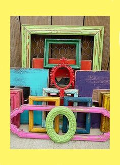 DYI Picture Frames for Teen Rooms | Sweet and Sour Kids Blog