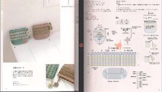 Ví Crochet Pouch, Crochet Keychain, Crochet Blouse, Crochet Bags, Crochet Diagram, Crochet Chart, Free Crochet, Knit Crochet, Crochet Handbags