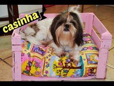 DIY Casinha para Cachorro com caixote de feira - YouTube