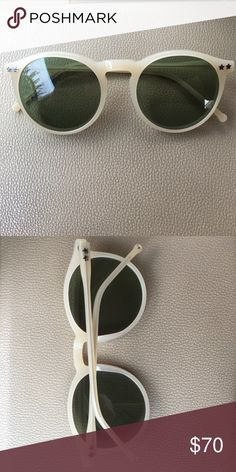 🌵 Wildfox Steff Sunglasses wildfox steff sunglasses. have been worn a couple times, there's a couple minor dings but in fantastic condition. Nude with blue-ish lenses. Wildfox Accessories Sunglasses