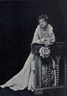 Queen Margherita of Italy in costume