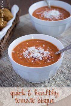 Quick Tomato Bisque