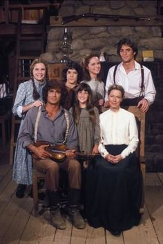 Little House on the Prairie - There I am on the left. If I only had a dollar every time someone called me half pint. I cut my hair the min my mom wasn't looking!!!