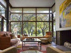 Lake Shore Drive House (Via: wkarch, contemporist)
