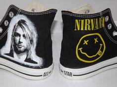Nirvana Shoes Converse
