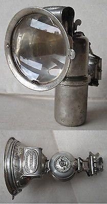 ANTIQUE GERMAN CARBIDE ACETYLENE BIKE LAMP FAVORIT / 1920s in Collectibles | eBay