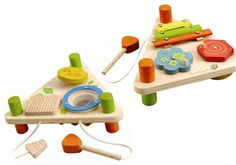Musical Triangle Flip // Wooden Toys for Toddlers // LoveLiveGrow