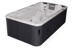 The Aquatic 1 is the ideal swim spa when space is at a premium. At 400 cm long, the Aquatic 1 provides ample swimming space while at the same time offering comfortable seating for quiet relaxation. Powerful pumps generate a strong current, allowing you to swim in place for an exceptional workout. All Passion Swim Spas come standard with interior and exterior LED lighting, providing elegant lighting accents to your spa experience.  Dimensions  Length: 400 cm Width: 228 cm Height: 126 cm…