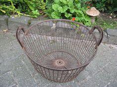 Antique potato basket ... from France, c. 1920! #ArtNouveau
