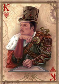 king of Hearts by Vasylina.deviantart.com on @deviantART
