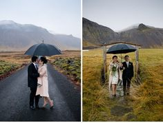 Intimate wedding in Iceland