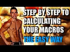 How to Calculate Your Macros in 5 Minutes With Fitness Model & Trainer J...