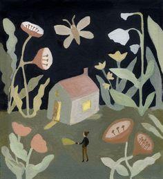 Night Returning, illustration by Gemma Koomen