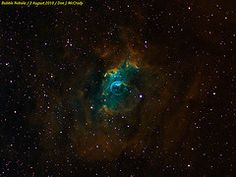 The Bubble Nebula (narrowband)  from DJMcCrady
