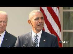President Obama Speech on Donald Trump.