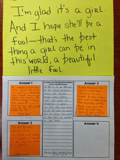 Try it out Tuesday: Sticky Note Sentence Combining Strategy - Building Book Love Close Reading Strategies, School Classroom, Classroom Ideas, Classroom Activities, Middle School English, Teaching English, English Teachers, English Classroom, Sticky Notes