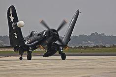 2011 NAS Jacksonville Airshow - F4U Corsair Folding Wings