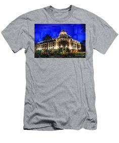 Men's T-Shirt (Slim Fit) - Le Negresco Hotel In Nice France
