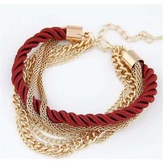 🎉️Posh Rope Bracelet 🎉Last One NWT Gorgeous Handmade Gold Chain Bracelet Braided Multilayer Rope Bracelet Bangle Chain❤️ Price is Firm Unless Bundled Jewelry Bracelets Summer Bracelets, Layered Bracelets, Metal Bracelets, Bangle Bracelets, Bangles, Bracelet Men, Strand Bracelet, Handmade Bracelets, Women Accessories