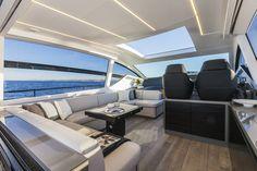 Internal view #Pershing62 #yacht #Ferretti #luxury
