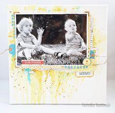 Odskocznia vairatki: Blejtram z chłopcami My Sunshine, Scrapbooking, Polaroid Film, Handmade, Decor, Hand Made, Decoration, Scrapbooks, Decorating