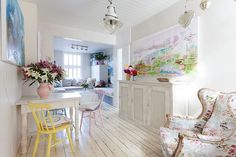 Blend in Scandinavian simplicity with shabby chic allure [Photography: Chris…