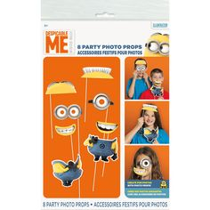 Despicable Me Party Photo Props