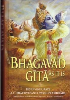 """Read """"Bhagavad-gita As It Is"""" by His Divine Grace A. Bhaktivedanta Swami Prabhupada available from Rakuten Kobo. The largest-selling edition of the Gita in the Western world, Bhagavad-gita As It Is is more than a book. Got Books, Books To Buy, Books To Read, Bhagavad Gita, Krishna Art, Hare Krishna, Fiction, Divine Grace, Lord Vishnu Wallpapers"""