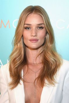Rosie Huntington-Whiteley's Hair Secret There are a few universal truths in life and the fact that Rosie Huntington-Whiteley (above) will forever have perfect hair is one of them. At the launch of Moroccanoil's Inspired By Women video series (which features six influential women including Huntington-Whiteley), we just had to ask the model the secret to her flawless strands....click image to find out what she said at Instylemag.com.au