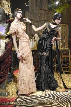 John Galliano Fall 2007 Ready to Wear (via asymmetricalglamour)