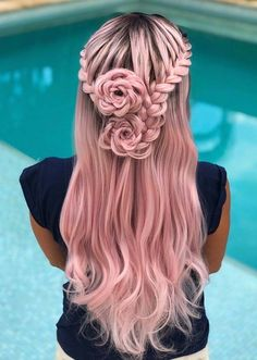 Gorgeous French Braids into Roses Styles to Try in 2020