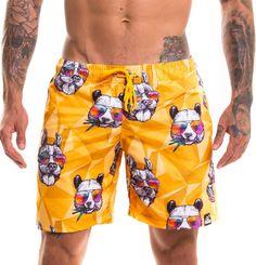 ff122607607f Os shorts estampados voltaram para o topo das tendências de moda praia  mundo afora