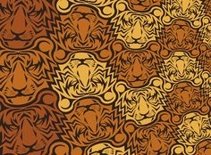 Tiger Tessellation on Behance
