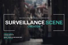 Surveillance Scene Creator PSD by Martz90 Shop on Creative Market