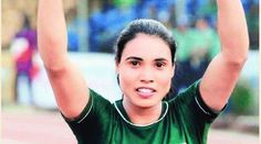 Naseem Hameed is a Pakistani athlete, who became the fastest woman in South Asia when she won a gold medal in the 100-metre event of the 11th South Asian Federation Games in Dhaka, Bangladesh on Monday, February 9, 2010.